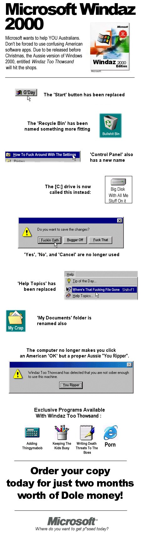 Microsoft Windaz 2000