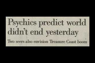 Psychics predict