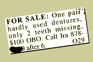Dentures For Sale