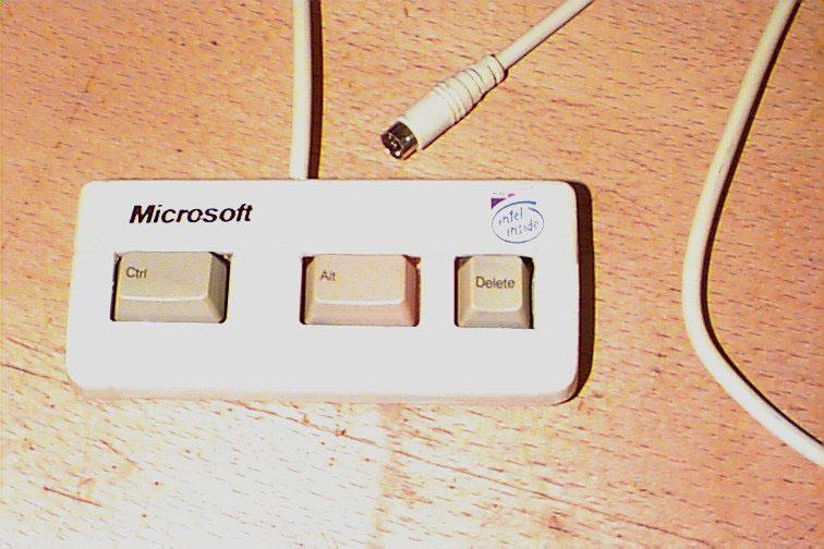 Microsofts New Keyboard