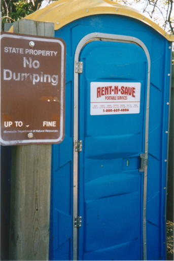 No dumping, I think not
